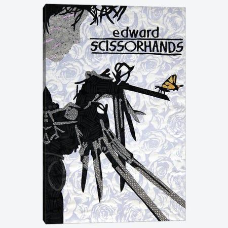 Edward Scissorhands Canvas Print #PFP20} by Pop Fabric Posters by Ali Scher Art Print