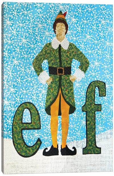 Elf Canvas Art Print