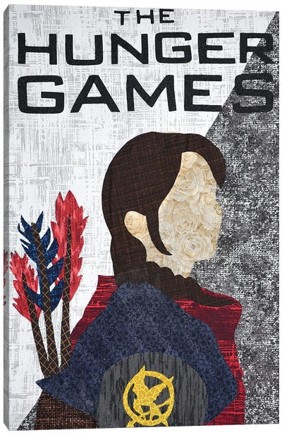 Hunger Games Canvas Art Print