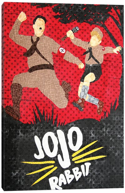 Jojo Rabbit Canvas Art Print