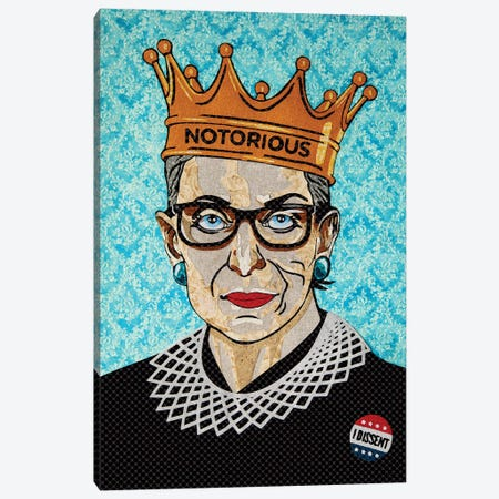 Rbg Canvas Print #PFP47} by Pop Fabric Posters by Ali Scher Canvas Artwork