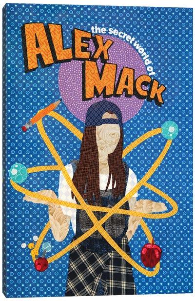 Alex Mack Canvas Art Print