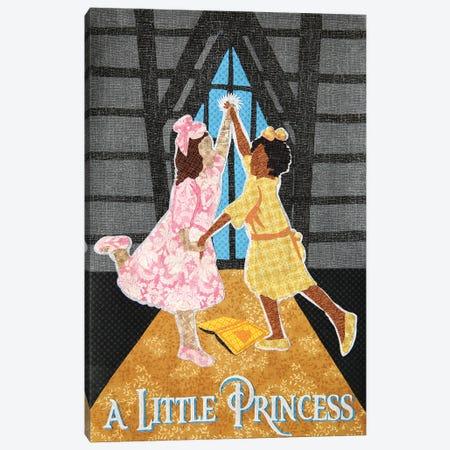 A Little Princess Canvas Print #PFP50} by Pop Fabric Posters by Ali Scher Canvas Art