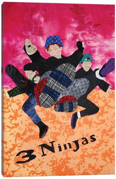 3 Ninjas Canvas Art Print