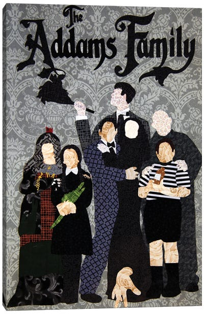 Addams Family Canvas Art Print