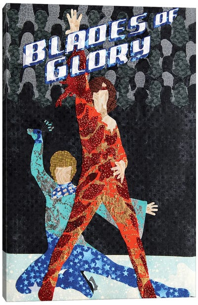 Blades Of Glory Canvas Art Print