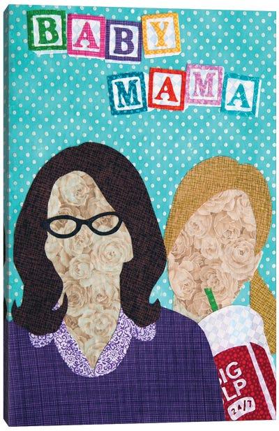 Baby Mama Canvas Art Print