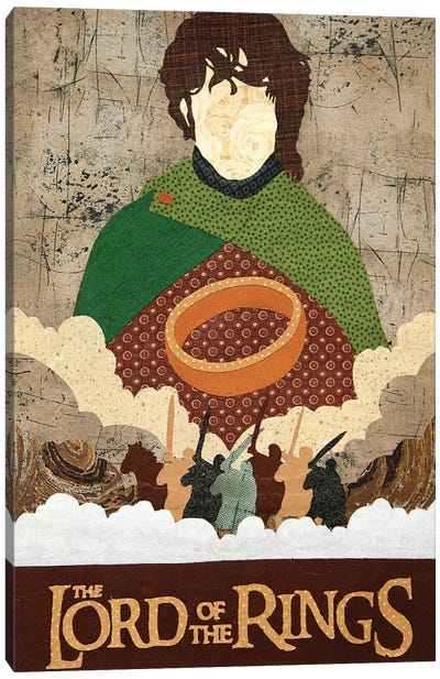 Lord Of The Rings Canvas Art Print