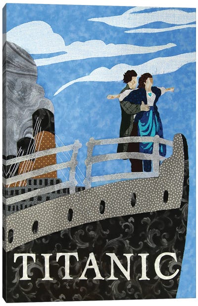 Titanic Canvas Art Print
