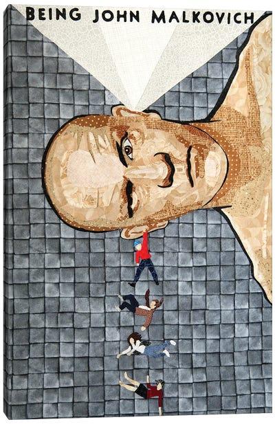 Being John Malkovich Canvas Art Print