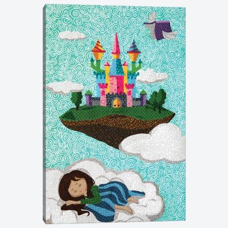 Castle On A Cloud - Castle Series Canvas Print #PFP94} by Pop Fabric Posters by Ali Scher Canvas Art Print