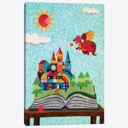 Pop Up Castle Canvas Print #PFP95} by Pop Fabric Posters by Ali Scher Canvas Art Print