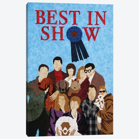 Best In Show Canvas Print #PFP9} by Pop Fabric Posters by Ali Scher Canvas Print