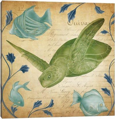 Fragment of Sea Life Canvas Art Print