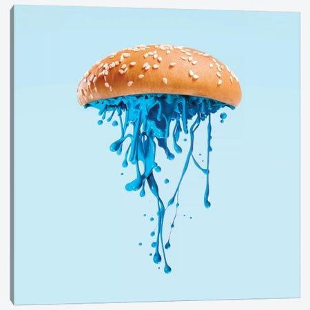 Jelly Burger Canvas Print #PFU24} by Paul Fuentes Art Print