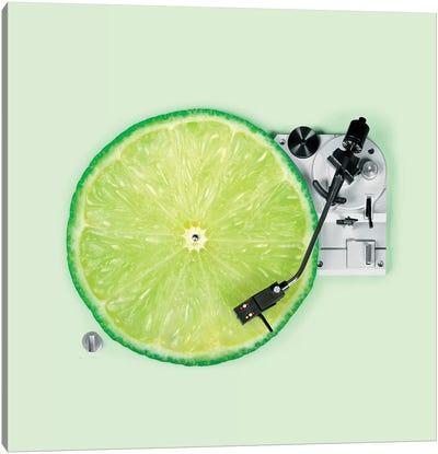 Lemon DJ Canvas Art Print
