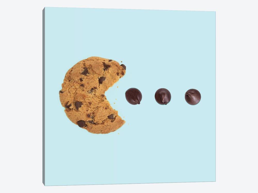 Pacman Cookie by Paul Fuentes 1-piece Canvas Print