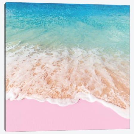 Pink Sea Canvas Print #PFU42} by Paul Fuentes Canvas Art
