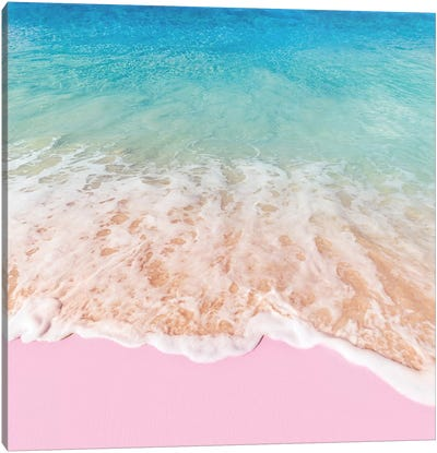 Pink Sea Canvas Art Print