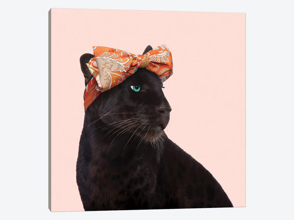 Fashion Panther by Paul Fuentes 1-piece Canvas Wall Art