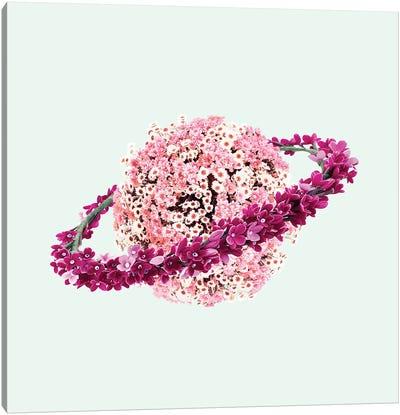 Floral Planet Canvas Art Print
