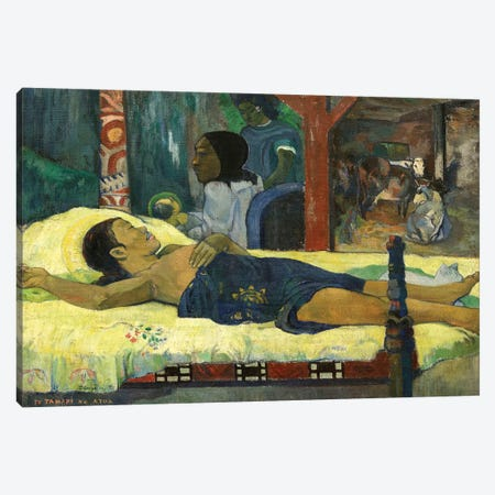 The Birth Canvas Print #PGG4} by Paul Gauguin Art Print