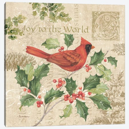 Christmas Trail I Canvas Print #PGL1} by Pamela Gladding Canvas Art Print