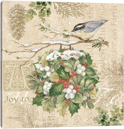 Christmas Trail III Canvas Art Print