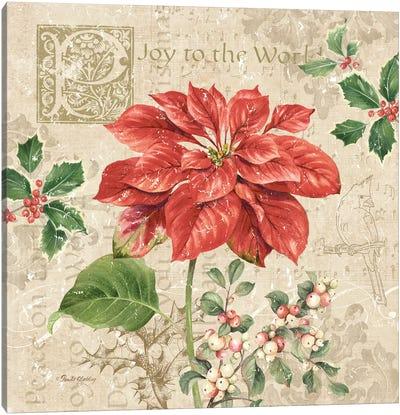 Christmas Trail IV Canvas Art Print