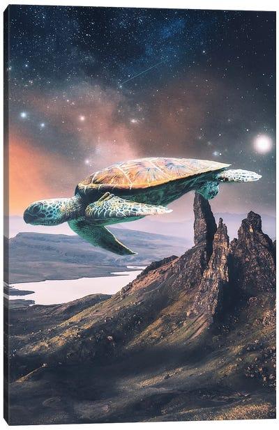 Flying Slow Canvas Art Print