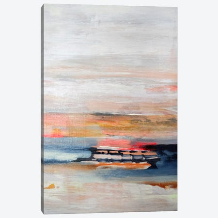 Breaking The Waves  Canvas Print #PHA12} by Pamela Harmon Canvas Wall Art