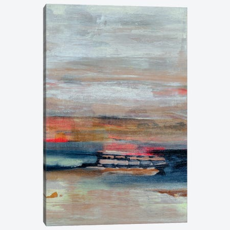 Breaking The Waves Canvas Print #PHA13} by Pamela Harmon Canvas Art