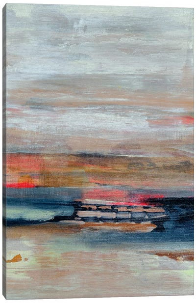 Breaking The Waves Canvas Art Print