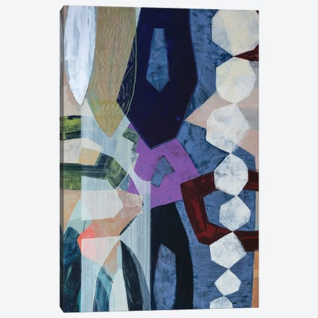 Geometrically Speaking Canvas Print #PHA27} by Pamela Harmon Canvas Art