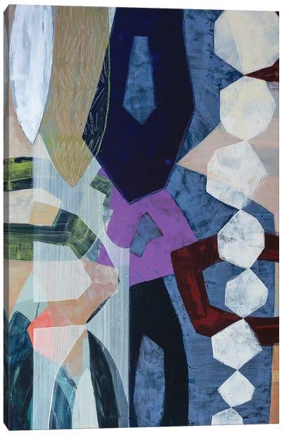 Geometrically Speaking Canvas Art Print