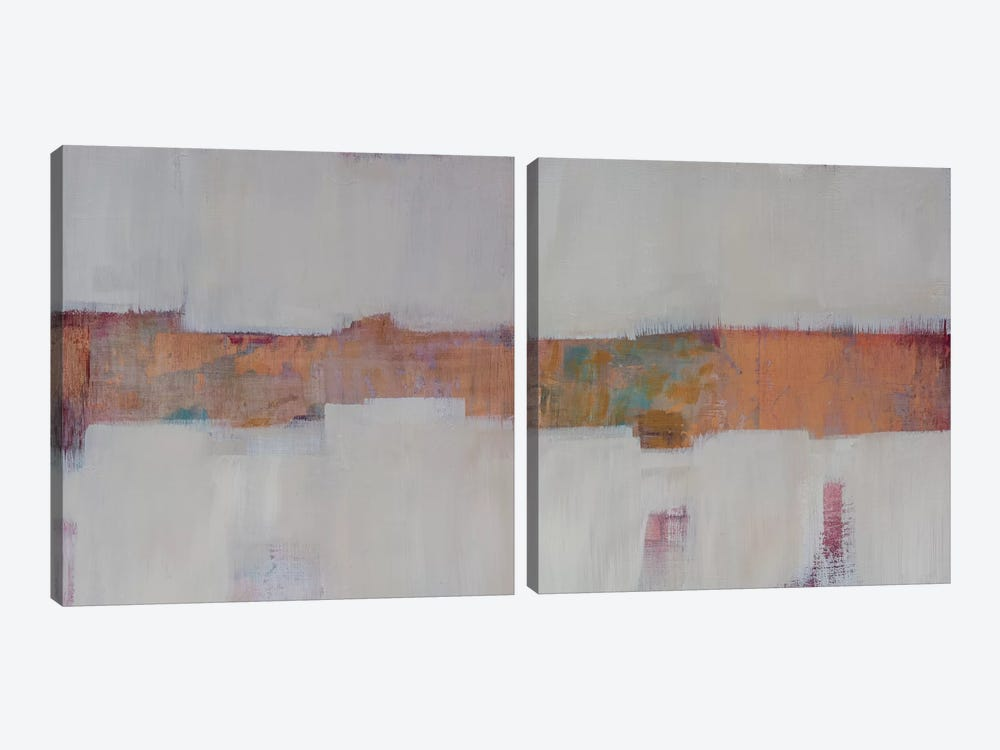 Slow Speed Chase Diptych by Pamela Harmon 2-piece Canvas Art