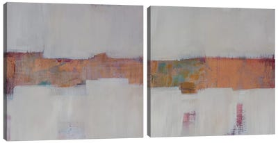 Slow Speed Chase Diptych Canvas Art Print