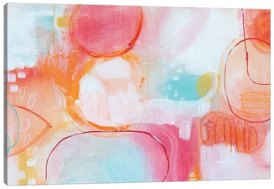 Bubbles II Canvas Art Print