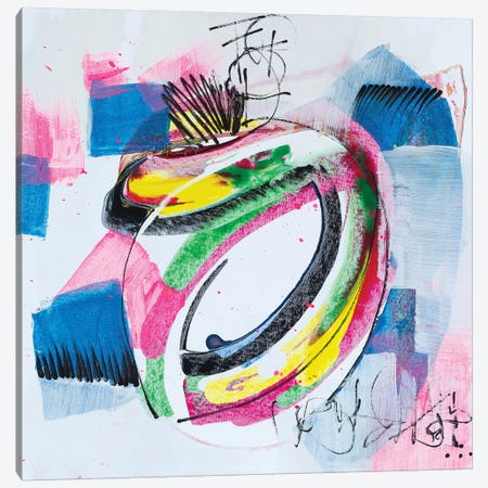 Message Sent Canvas Print #PHA47} by Pamela Harmon Canvas Wall Art