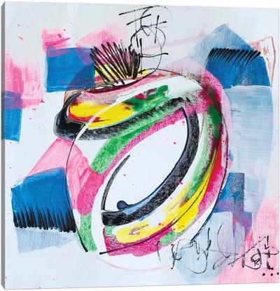 Message Sent Canvas Art Print