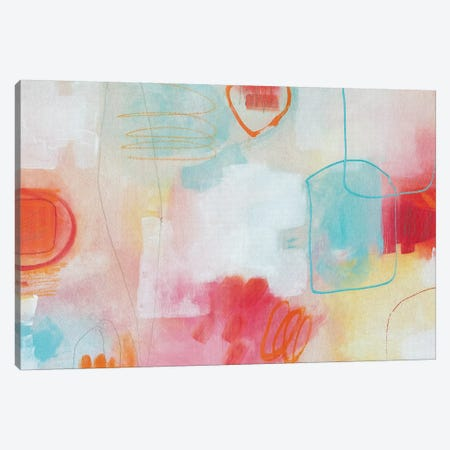 Bubbles III Canvas Print #PHA4} by Pamela Harmon Canvas Wall Art