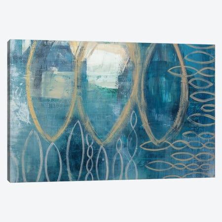 Pisces Canvas Print #PHA58} by Pamela Harmon Canvas Art
