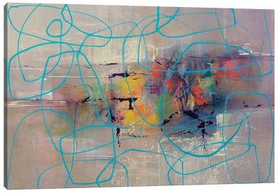 Round About Canvas Art Print