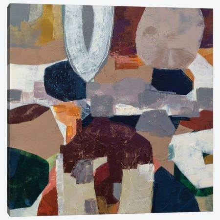 Solid Plans Canvas Print #PHA70} by Pamela Harmon Canvas Art