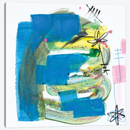 Astro Tuesday Canvas Print #PHA7} by Pamela Harmon Canvas Art