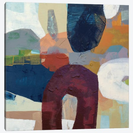 Villager Canvas Print #PHA83} by Pamela Harmon Canvas Print