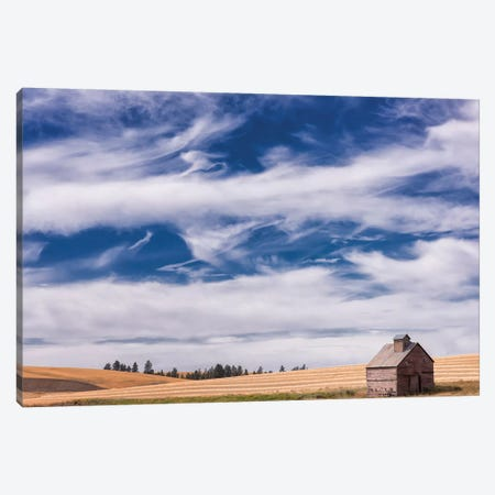 Farm & Field I Canvas Print #PHB30} by PH Burchett Art Print