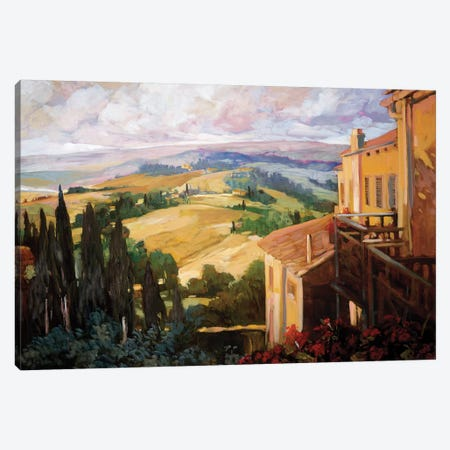 View to the Valley Canvas Print #PHC11} by Philip Craig Canvas Wall Art