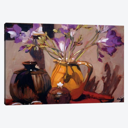 Freesia Floral Canvas Print #PHC3} by Philip Craig Canvas Art Print