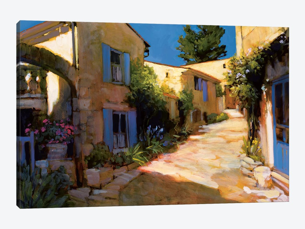Village In Provence by Philip Craig 1-piece Canvas Artwork